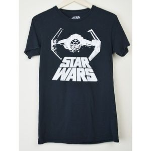 Star Wars Thai Fighter Graphic Tee Size Small